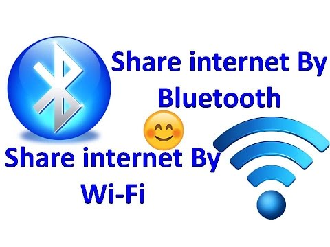 How to share internet connection via Bluetooth and WiFi Hotspot (EASY TO CONNECT)
