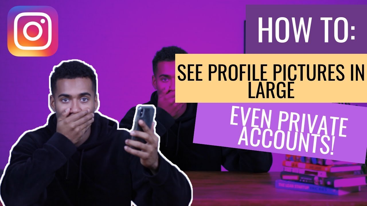 How To View Instagram profile picture full size - View instagram private  account picture 2019