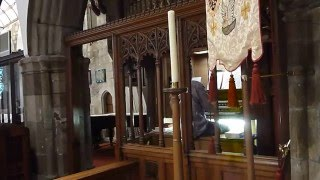 All over the world the Spirit is moving - pipe organ, Holy Trinity Church, St Austell