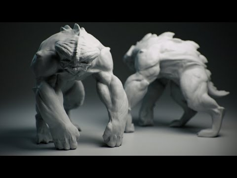 ZBrush Tutorial - Creature Concepting in ZBrush - Trailer