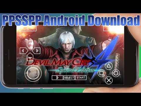 Devil May Cry 4 PPSSPP Game Download Android Emulator 2020