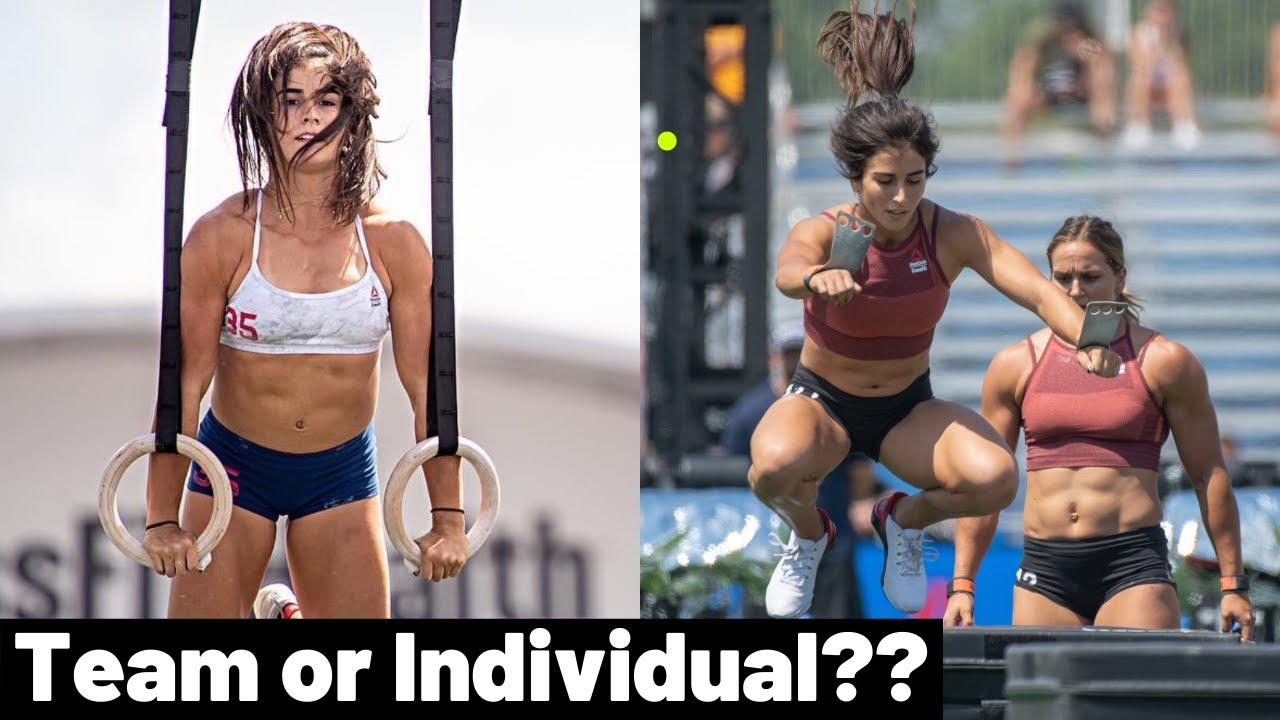 Lauren Fisher - 2021 CrossFit Games TEAM OR INDIVIDUAL ...