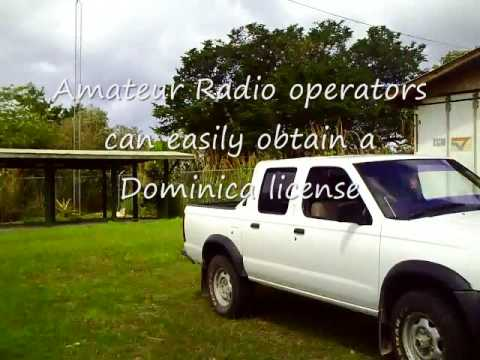 Dominica Amateur Radio Club Site J73Z J79WWW LCF Group