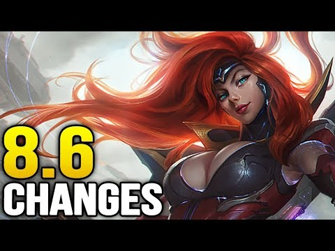 Big changes coming soon in Patch 8.6 (League of Legends)