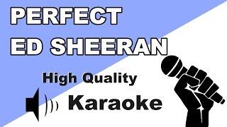 🔴🎤Perfect - Ed Sheeran - Instrumental/Karaoke Universe HD with lyrics🎤🔴