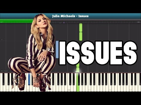 Issues Piano Tutorial - Free Sheet Music (Julia Michaels)