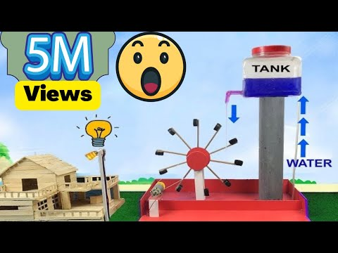 FREE ENERGY DEVICE || WATER WHEEL FREE ENERGY DEVICE || WATER RECYCLE