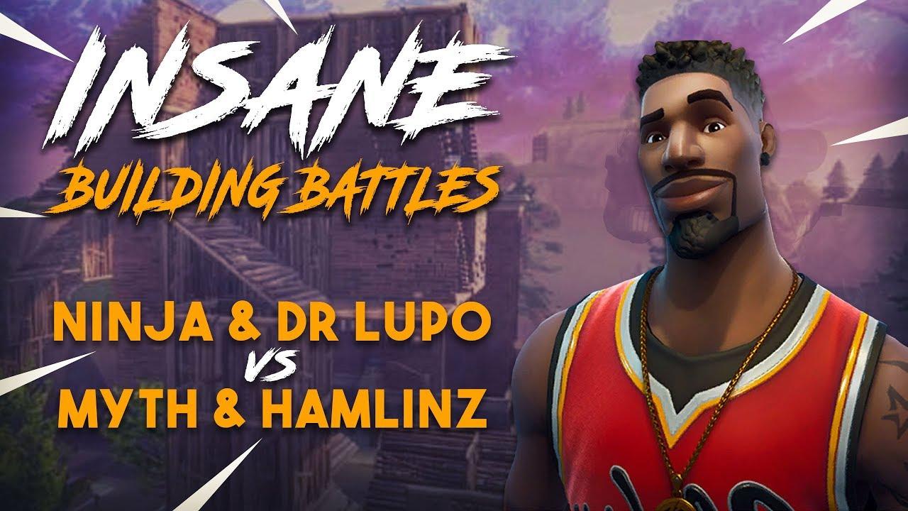 Insane Building Battles!! Ninja & Lupo vs TSM Myth & Hamlinz - Fortnite Tournament Game 2