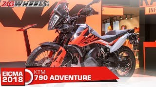 2019 KTM 790 Adventure | Should the Tigers and GSes worry? | EICMA 2018
