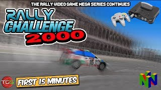 Rally Challenge 2000 - N64 Gameplay (First 15 Minutes)  Rally Games Ep. 18