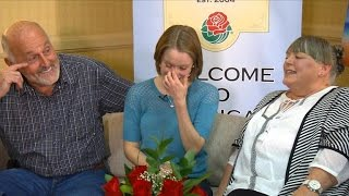 Two families bonded by little boy's gift of life