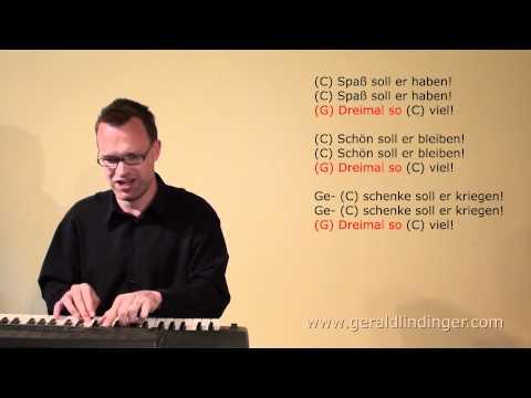 Gerald Lindinger: Hoch soll er leben / C / schnell