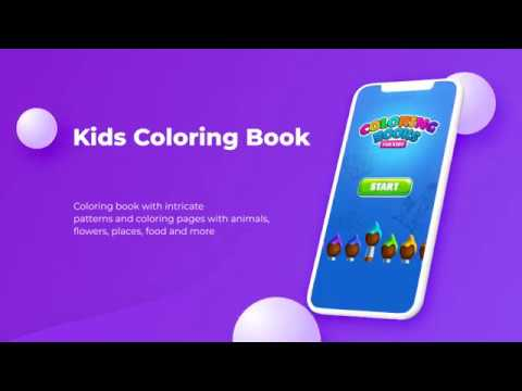 Coloring Book Android App Source Code Youtube