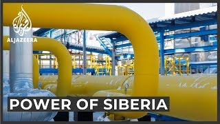 'The power of Siberia': Russia-China gas pipeline to launch