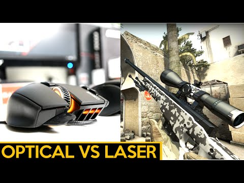 OPTICAL VS LASER | Which Gaming Mouse is best for PC Gaming?