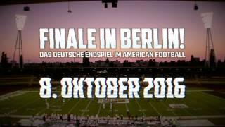 German Bowl 2016 Trailer