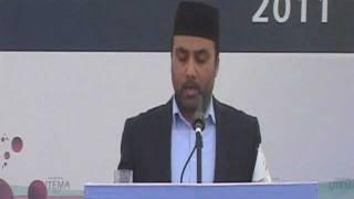 Sadr Majlis address at National Ijtema 2011