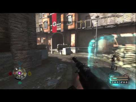 Wolfenstein Uber Difficulty/Collectibles Guide - [39] Midtown West Gold Part 1 HD