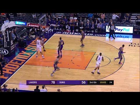 3rd Quarter, One Box Video: Phoenix Suns vs. Los Angeles Lakers