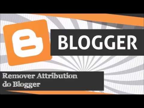 Como remover o Attribution (Atribuição) do Blogger - Blog Leonardo Martins
