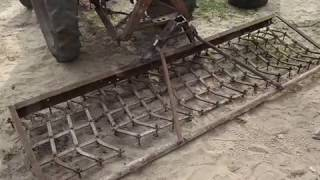 Изготовление бороны для трактора