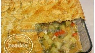 Tarte de Poulet /Chicken Pot Pie-Sousoukitchen