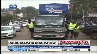 Radio Maisha caravan entertains Eldoret residents