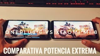Xiaomi Mi 8 vs OnePlus 6 - Cuál es el más potente?