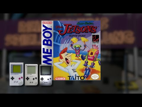 Gameplay : The Jetsons Robot Panic [Gameboy]