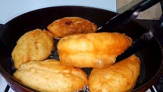 Пирожки жареные с картошкой Ну очень Вкусные Простой рецепт теста для пирожков