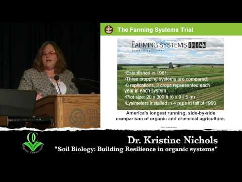 Dr. Kristine Nichols - Soil Biology Builds Resilience in Organic Systems