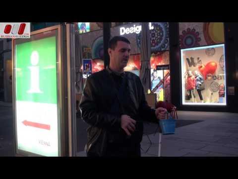 Marek (Slovakia). Vocal. Amazing Vienna Street Performers Live by Russian Austria (FHD)