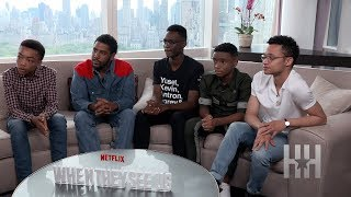 'When They See Us' Cast Opens Up About Playing The Central Park Five