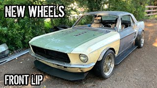 We Transformed Oscar's Mustang With A Few Simple Parts!