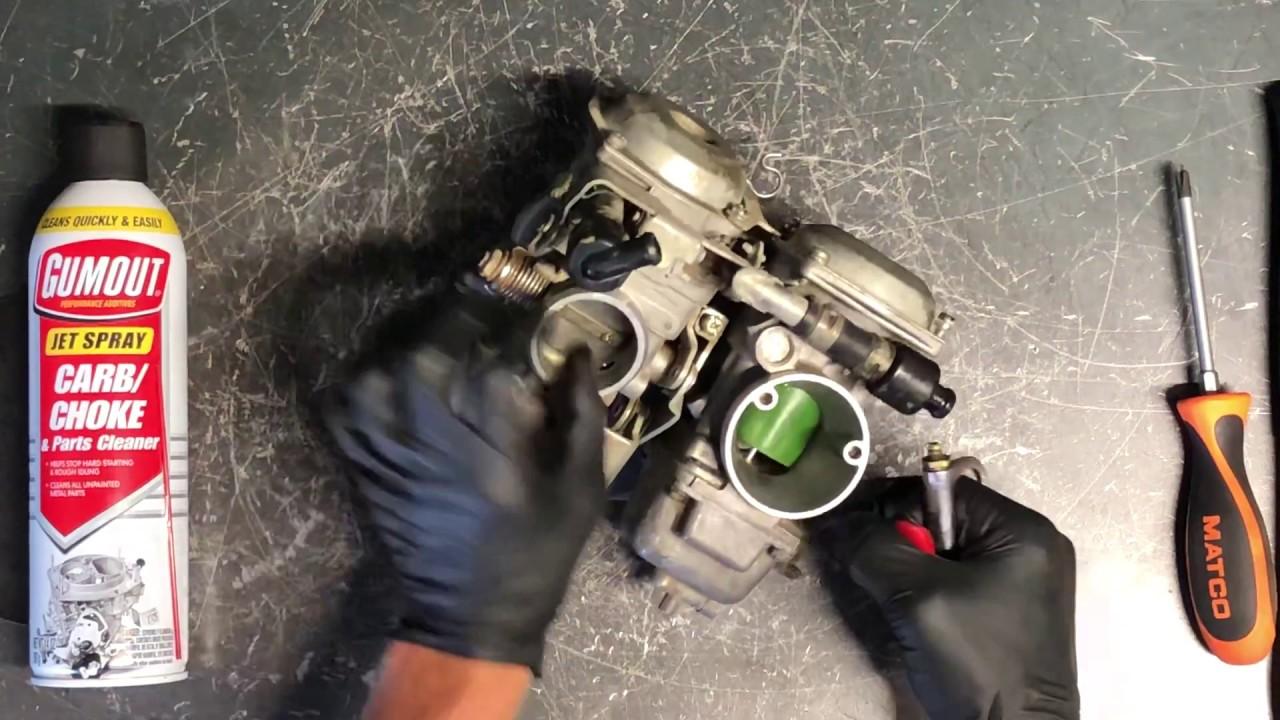 Yamaha Virago Carburetor Cleaning