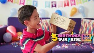Lazada 5th Birthday Surprise SALE