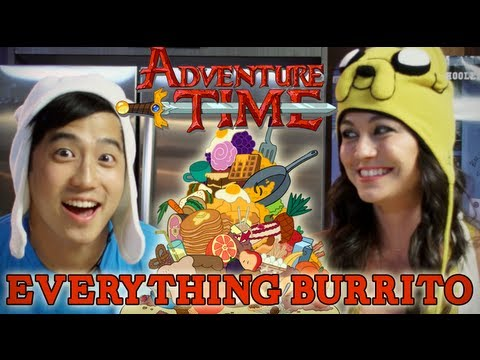 how-to-make-the-everything-burrito-from-adventure-time!-|-feast-of-fiction