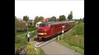 NS DE3 Plan U 114 historic diesel train - by Werkspoor Amsterdam - 1960
