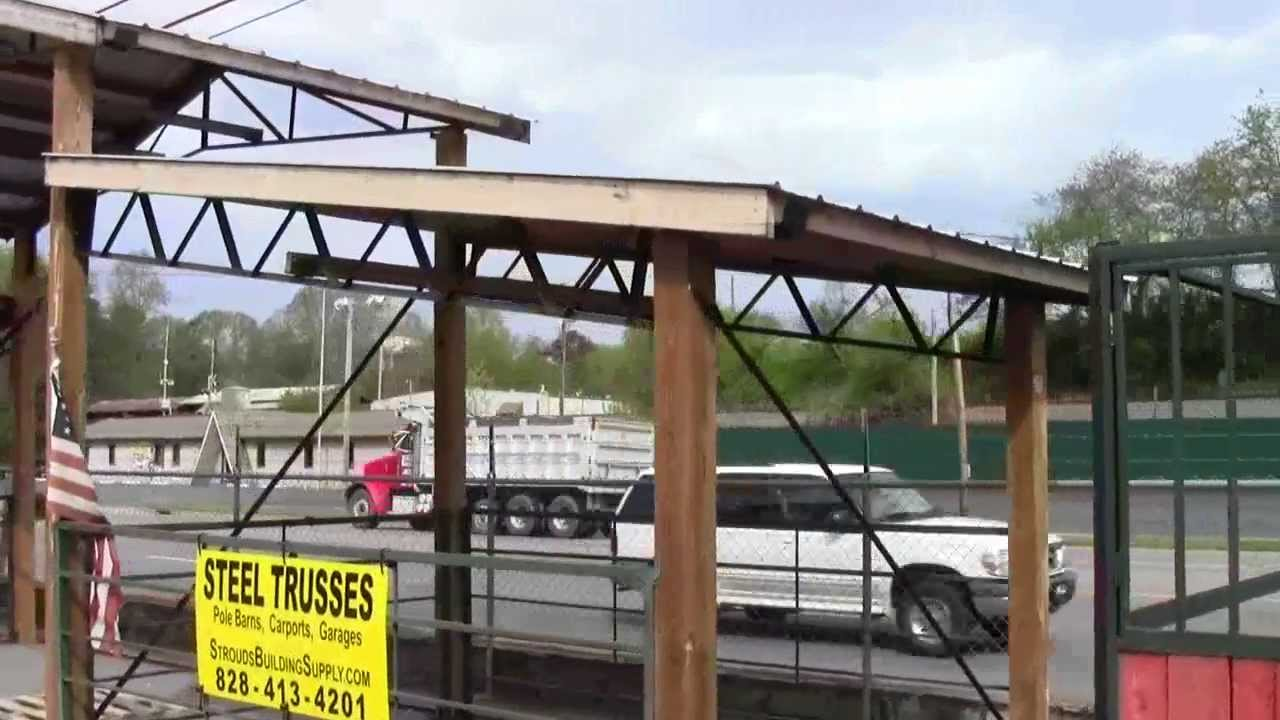 Steel Trusses And Pole Barn Kits Made In Usa Youtube