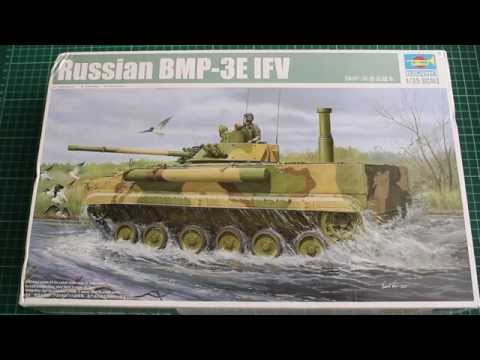 Unboxing of: Trumpeter 1/35 BMP 3E IFV