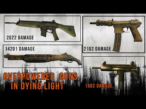 how to get munitions in dying light