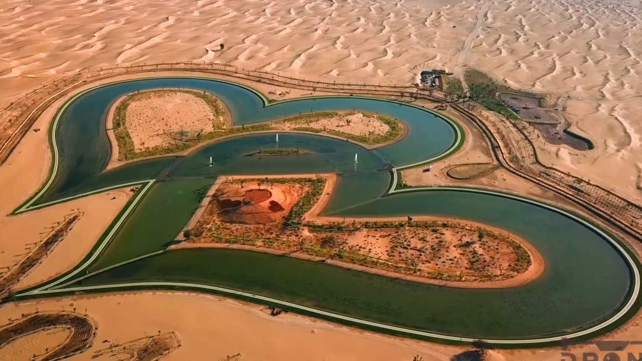 Love Lake Uae Dubai 2019 By Satellite Map Youtube