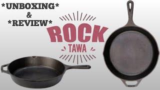 Rock Tawa PAN 10 5 Inches Pre Seasoned Cast Iron Skillet Fry Pan Rock Tawa