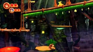 Donkey Kong Country Returns (Co-op) #12: Swingin
