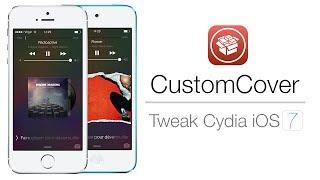 Tweak Cydia   CustomCover • Personnaliser vos pochettes d'album sur le LockScreen !
