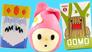 ROBOT Disney Vinylmation My Melody Play Doh Egg Surprise Frozen Toyz Hello Kitty Adventure Time