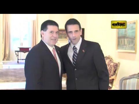 Capriles pide a Cartes apoyo para revocatorio