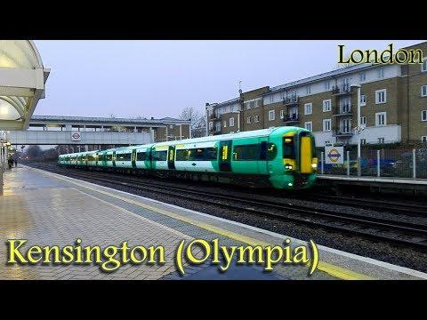 Kensington (Olympia) Railway Station : London Underground - Overground - National Rail