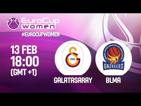 LIVE 🔴 - Galatasaray v BLMA - EuroCup Women 2018-19