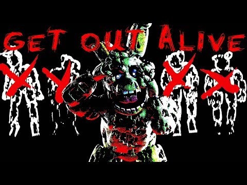 FNAF SFM Get Out A  Three Days Grace